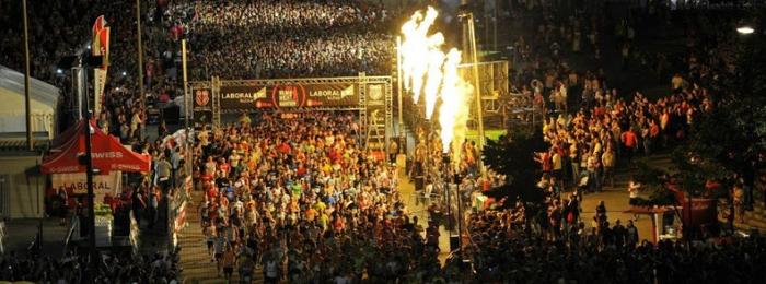 Maratón nocturna de bilbao