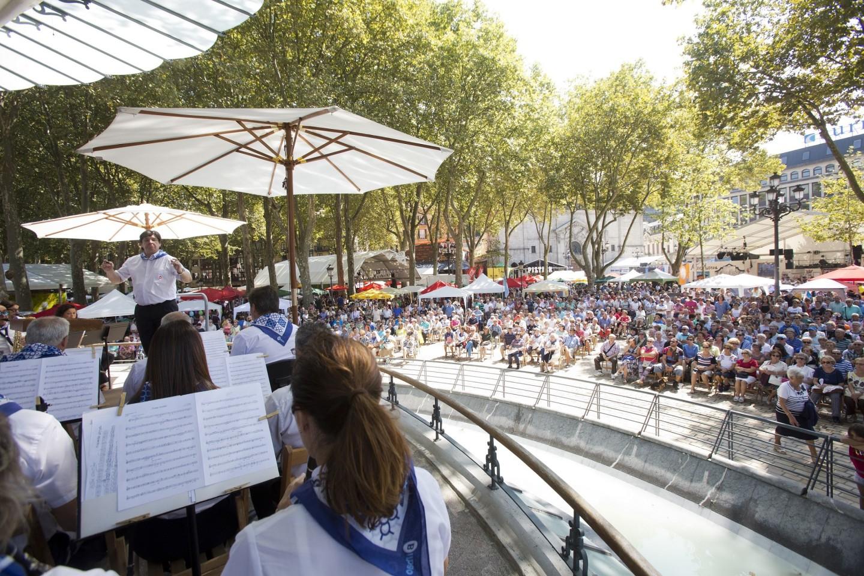 La banda de música de Bilbao celebra Aste Nagusia con ocho conciertos