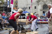 Cultura vasca y herri kirolak en la Aste Nagusia de Bilbao