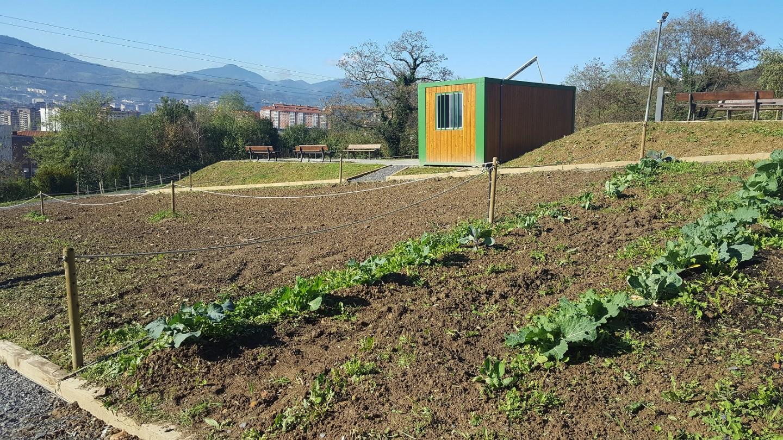 Reapertura de las huertas ecológicas municipales de Bilbao